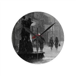 Walking In The Rain Clocks