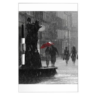 Walking In The Rain Dry-Erase Whiteboards