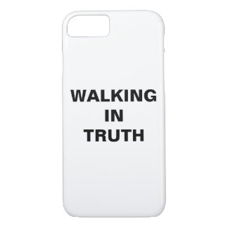 """Walking In Truth"" Apple iPhone 8/7 Case"