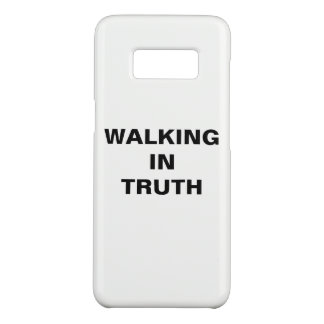 """Walking In Truth"" Samsung Galaxy S8 Case"