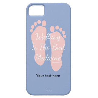 Walking Is Man's Best Medicine Hippocrates iPhone 5 Cover