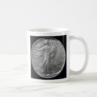 """Walking Liberty Mug"