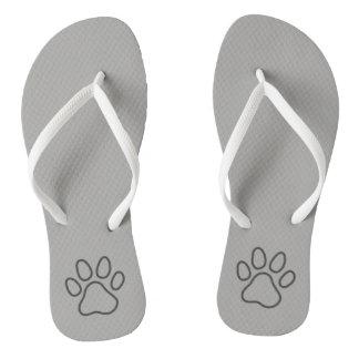 Walking like a cat flip flops