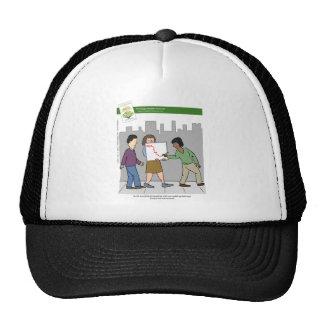 Walking Meetings With Book Trucker Hat