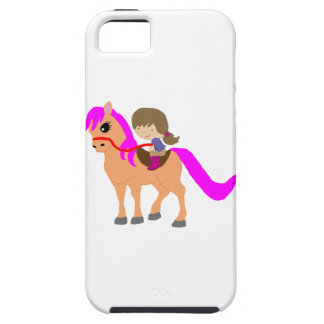 Walking on my pony iPhone 5 cases