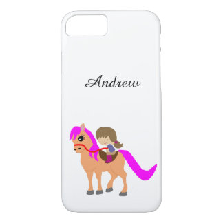 Walking on my pony iPhone 8/7 case