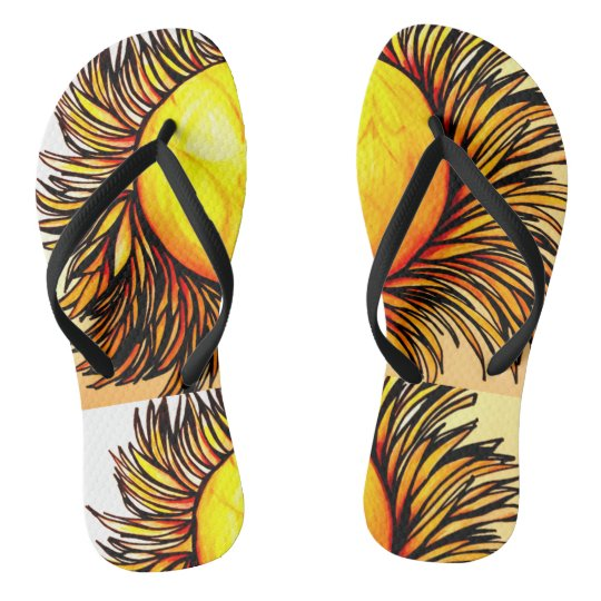 Walking on Sunshine Flip flops