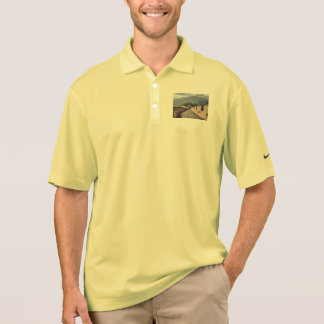 Walking on the Great Wall of China Polo Shirt