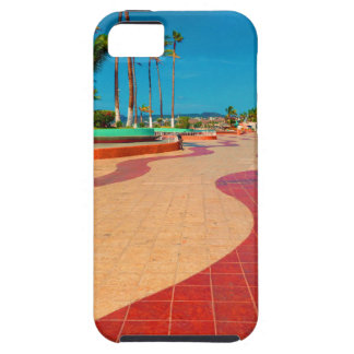 Walking on the streets of Baja iPhone 5 Case