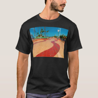 Walking on the streets of Baja T-Shirt