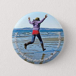 Walking on Water Button