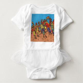 Walking Stick Baby Bodysuit