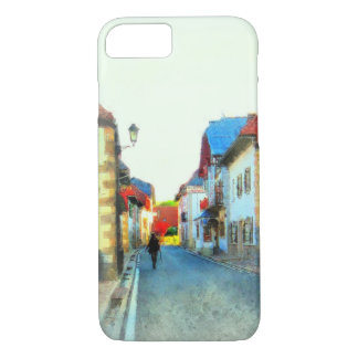 Walking through a small Spanish Village iPhone 7 Case