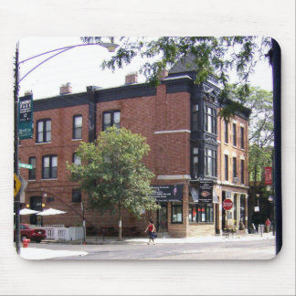 Walking Through Downtown Mouse Pad