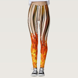 Walking Through Fall Leaves - Leggings