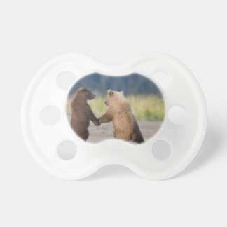 Walking Together Hand In Hand Pacifier