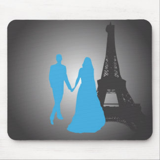 Walking Together Mouse Pad
