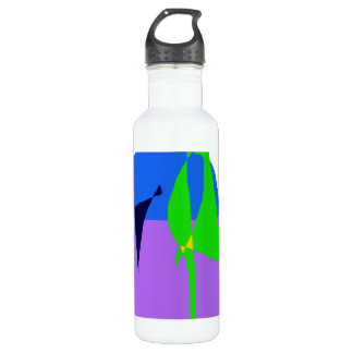 Walking Two Dogs 710 Ml Water Bottle
