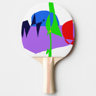 Walking Two Dogs Ping Pong Paddle