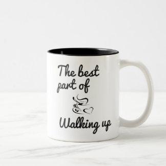 walking up mug