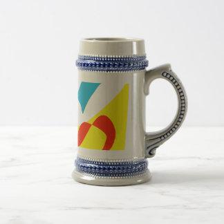 Walking with a Yellow Dragon Coffee Mug