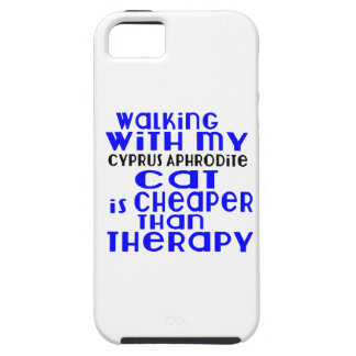 Walking With My Cyprus Aphrodite Cat Designs iPhone 5 Cover
