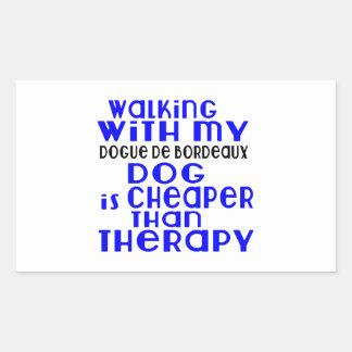 Walking With My Dogue de Bordeaux Dog  Designs