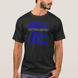 Walking With My Norwegian Elkhound Dog Designs T-Shirt