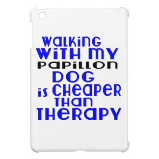 Walking With My Papillon Dog Designs iPad Mini Cases