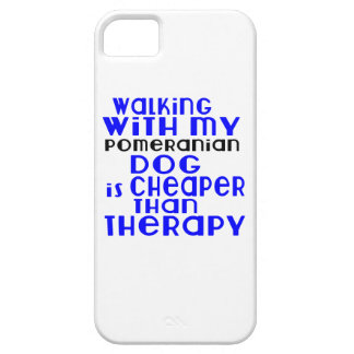 Walking With My Pomeranian Dog Designs iPhone 5 Covers