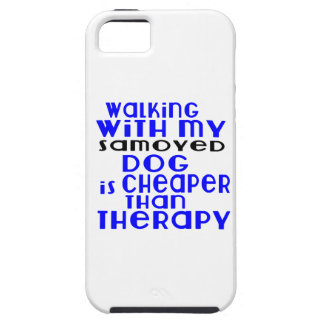 Walking With My Samoyed Dog Designs iPhone 5 Case