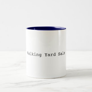 Walking Yard Sale Mug