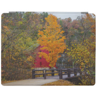 Walkway Bridge To Alley Mill iPad Cover
