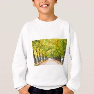 Walkway full of trees sweatshirt