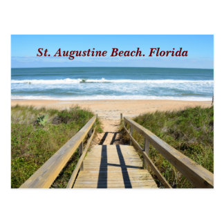 Walkway to the Beach Postcard