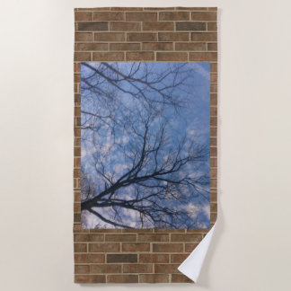 Walkways Among the Clouds Beach Towel