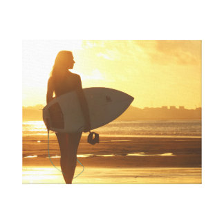 Wall Art Canvas Sexy Print Surf Paddle Board Art