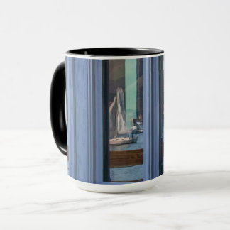 Wall Art in the Reflections seagull sailboat c Mug