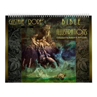 Wall Calendar Bible Illustrations