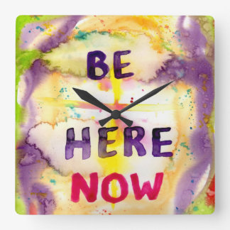 Wall Clock - Be Here Now