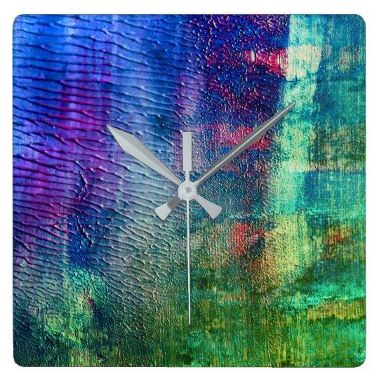 Wall clock : Designers grunge edition