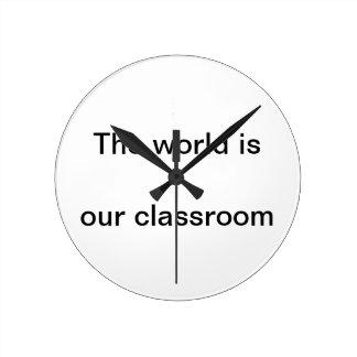 Wall clock for homeschoolers