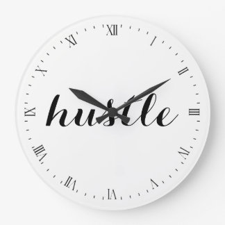Wall Clock - hustle