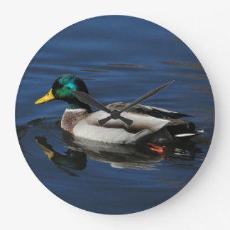 Wall Clock, Mallard Duck Large Clock