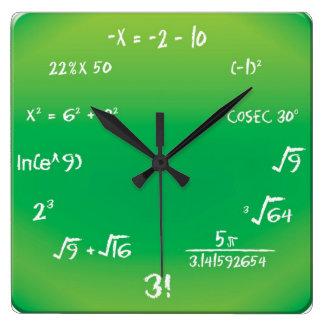 Wall Clock - Maths Pop Quiz Clock
