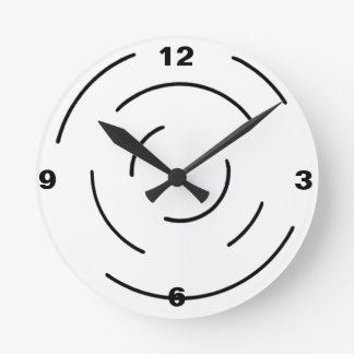 wall clock,radar,humor clocks