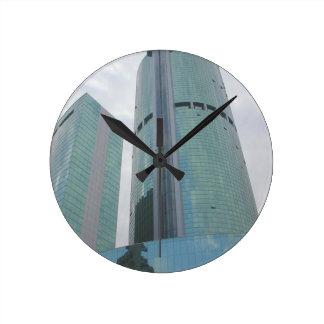 Wall Clock Tallest building Hong Kong China