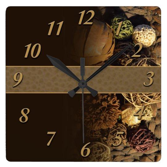 Wall Clock - Wall Art Nature Series