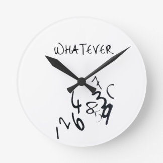 Wall Clock - whatever