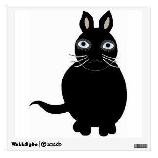 Wall Decal Black Cat